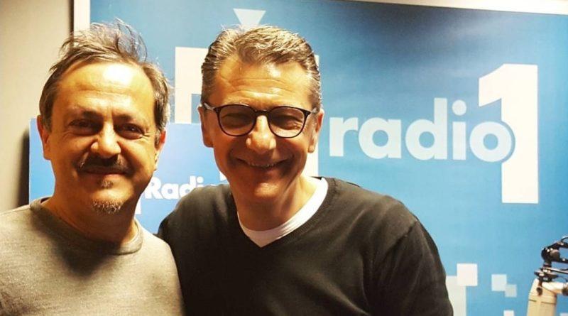 radio_Gegè Telesforo a Radio1 Music Club