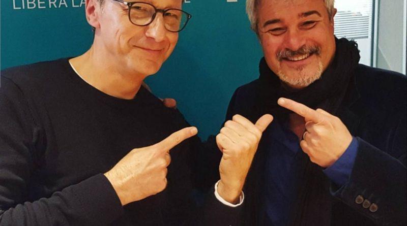 radio_Gegè Telesforo a Radio24 ospite di Pino Insegno