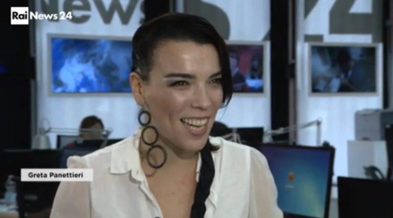 Greta Panettieri a RaiNews24