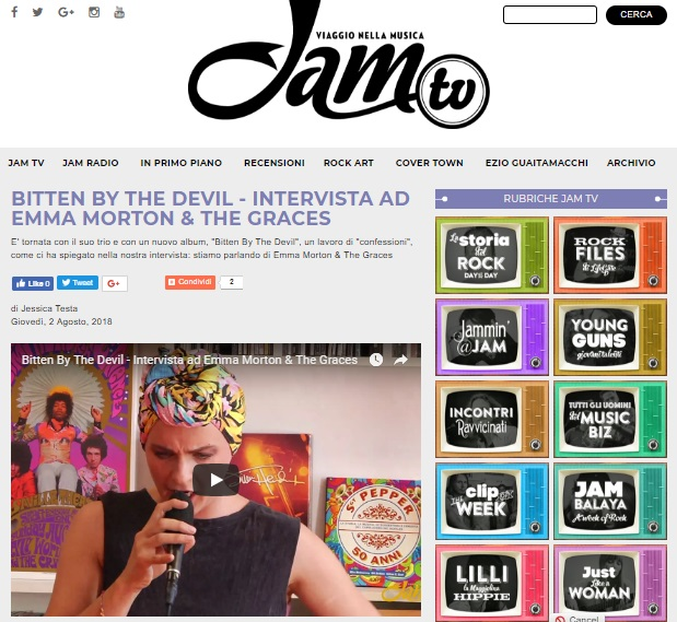 web_JAM TV INTERVISTA EMMA MORTON