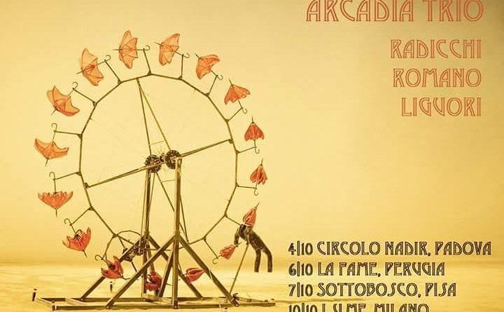 Prosegue il tour autunnale dell'Arcadia Trio di Leonardo Radicchi