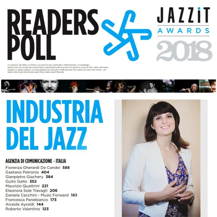 jazzit award fiorenza gherardi