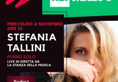 A Radio3 Stefania Tallini in concerto